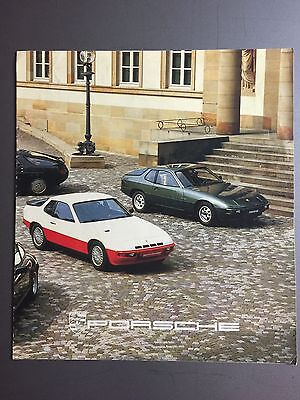 1980 Porsche Full Line (Range) Brochure Japanese RARE!! Awesome L@@K