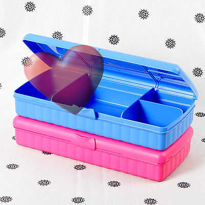 NEW Tupperware Sandwich Keeper Plus Pink or Blue Large Sandwich Lunch Keepers