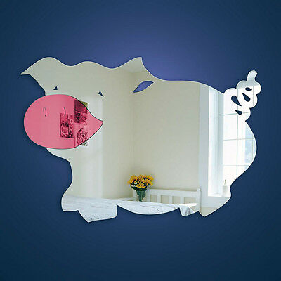 Pig Nursery Mirror (Part of a Tiny Tots Range)  New Collection