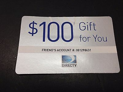 DIRECTV New Customer $100 Discount Code  Inside - Nothing To Buy Or Ship !