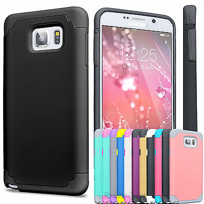 Hybrid Shockproof Rugged Rubber Slim Hard Case Cover For Samsung Galaxy Note 5