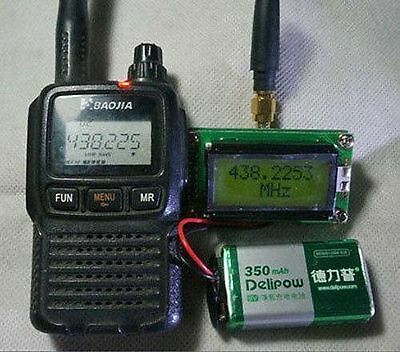 High Accuracy 1~500MHz Frequency Counter meter for Ham Radio Interphone