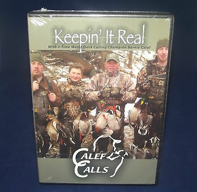 Duck And Goose Hunting DVD With Barnie Calef/Duck Decoys Sale Price Reduced !!