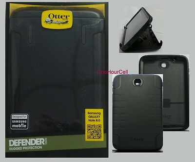 """OtterBox Defender Series Case for Samsung Galaxy Note 8.0"""" TABLET Black 77-30362"""