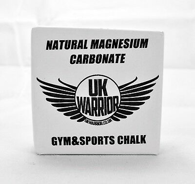 UK Warrior Weight Lifting Gym Rock Climbing Chalk Bouldering Pole Dancing Block