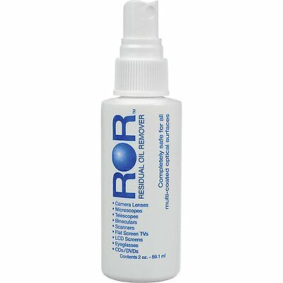 Residual Oil Remover (ROR) Lens Cleaner (2 fl oz) Camera, Tablet, Phone