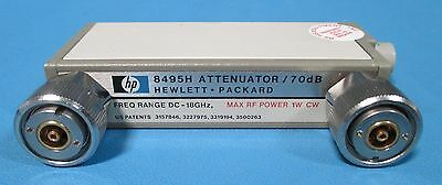 HP Agilent 8495H Programmable Step Attenuator 18 GHz, 70 dB