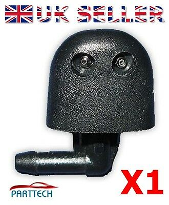 VAUXHALL VIVARO FRONT WINDOW WIPER NOZZLE - PIPE x1
