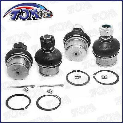 Brand New 4Pc Upper & Lower Ball Joints Dana 44 Front Axle 4X4 Dodge Ford Chevy