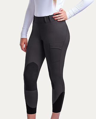 Noble Outfitters Balance Riding Tights / Breeches - LADIES - Black & Asphalt