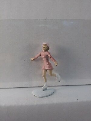 Arttista Woman Ice Skating #1392 - O Scale On30 On3 Figures People - New