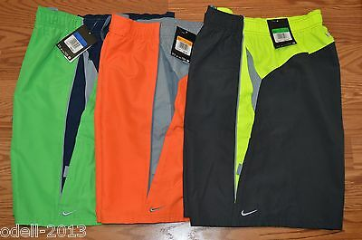 68374feff9 NIKE Core Contend Volley Men Swim Trunk Board Shorts NESS5311 Sz S M XL XXL  NWT