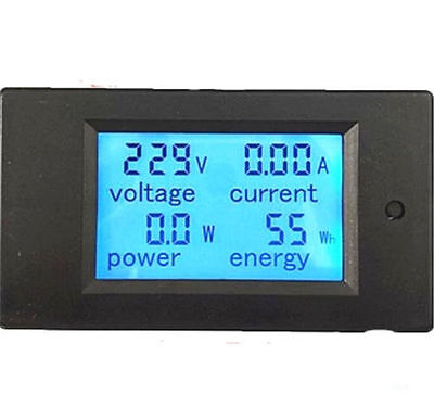 New 100A AC Digital LED Power Panel Meter Monitor Power Energy Voltmeter Ammeter