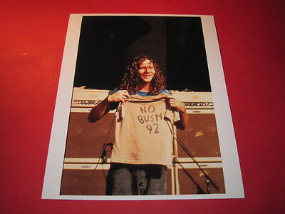 PEARL JAM EDDIE VEDDER  10x8 inch lab-printed glossy photo P/4761