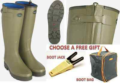 Le Chameau Chasseur Neoprene Full Zip Mens/Ladies  Rubber Wellies