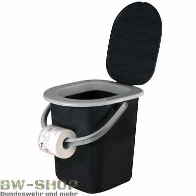 Branq Campingtoilette 22L Reise Klo Toilette Camping Eimer Outdoor Wc Campingklo