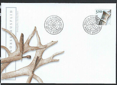 Norway 2003 Crafts on unaddressed official first day cover