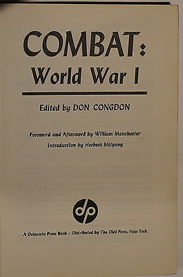 WW1 Combat World War I Marne Anzac Cambrin Verdun Jutland Ypres Reference Book