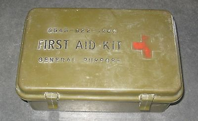 1967 General Purpose Army Medical First Aid Kit Box 6 Days War Trophy Israel
