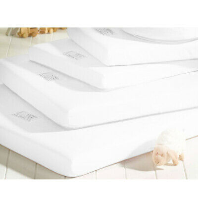 Travel Cot Mattress 65 x 95cm Quilted & Waterproof for Play Pens, Pop Up Cots