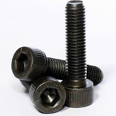M4 M5 M6 M8 Black Self Colour 12.9 High Tensile Allen Bolt Socket Cap Screws
