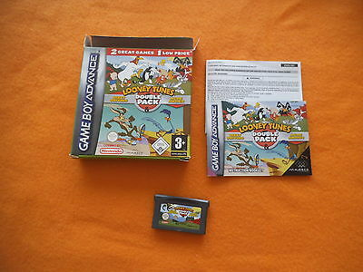 Looney Tunes Double Pack Dizzy Driving ACME in OVP Nintendo Gameboy Advance