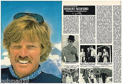 Coupure de presse Clipping 1980 (4 pages) Robert Redford