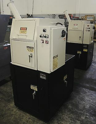 Ball & Jewell Plastic Granulator, Model CG-812-SCSX, 10 HP Motor w/ 2HP Blower