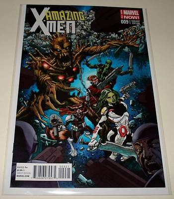 AMAZING X-MEN # 9  Marvel Comic 2014  NM  1:15 GUARDIANS OF THE GALAXY VARIANT