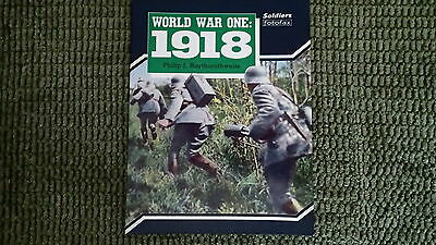WW1 International World War One: 1918 Soldiers fotofax Reference Book