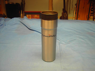 Conoco Phillips Stainless Steel  16 oz. Tumbler