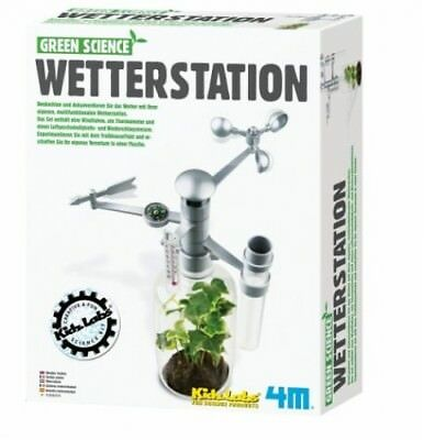 HCM 63279 - Green Science: Wetterstation (Spielware) NEU