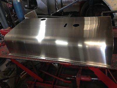 Lincoln sa 200 short hood brushed stainless steel roof
