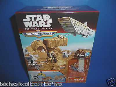 Star Wars Micro Machines The Force Awakens First Order Stormtrooper Playset  NEW
