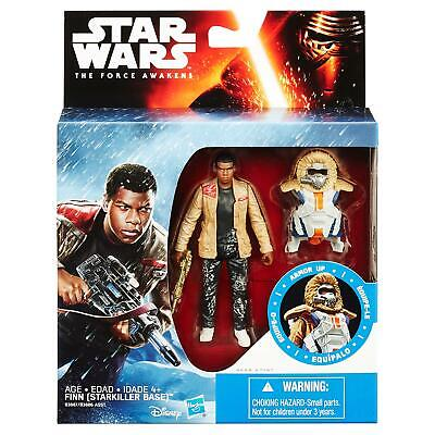 "Star Wars The Force Awakens 3.75"" Figure Snow Mission Armor Finn Starkiller Base"