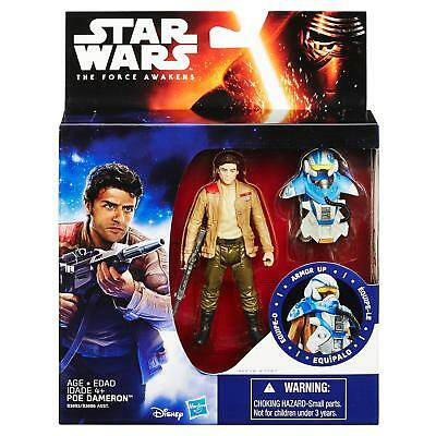 "Star Wars The Force Awakens 3.75"" Figure Space Mission Armor Poe Dameron (Pilot)"