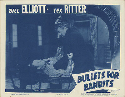 Bullets for Bandits 1953 Original Movie Poster Western