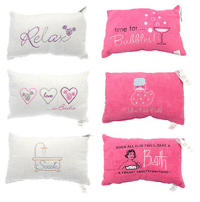 bath pillow choice from 6 designs. Great gift ideas