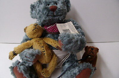 Collectible MopTop Lenny And Friends Millenium 2000 Tebby Bears By Ganz - 1999