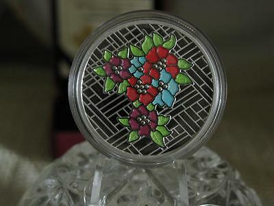 ✪ 2014 $20 Craigdarroch Castle: Stained Glass - Pure Silver Coin