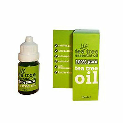 100 % Pure Tea Tree Essential Oil 10ml- Melaleuca Alternifolia, Anti Fungal-/-
