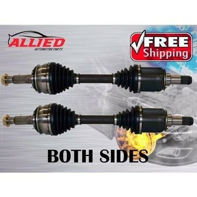 2 x NEW CV JOINT DRIVE SHAFTS TOYOTA HILUX KUN26 GGN25 WITH 40mm LIFT RAISED