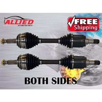 TWO BRAND NEW CV DRIVE SHAFTS / TOYOTA HILUX KUN26 GGN25 WITH 40mm LIFT - B983L