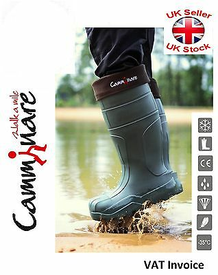 Camminare Thermal LIGHTWEIGHT EVA Wellies Wellingtons Boots -35 C Syberian Green