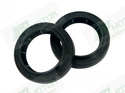 New 2pcs Front Fork Oil Seal 27mmx37mmx7.5/9.5mm Fit For 1986 Honda CT110 80-86