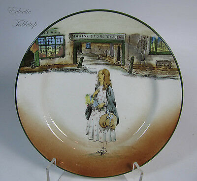 "Royal Doulton Dickens Ware Little Nell Plate - 7.5"" D2973"