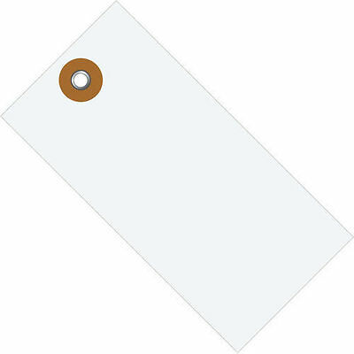 "Box Partners #5 Tyvek Shipping Tag 4 3/4"" x 2 3/8"" 100 Count"