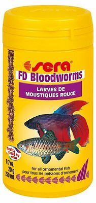 Sera FD Bloodworms*50ml,100ml,250ml