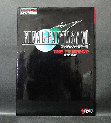 Japan 『FINAL FANTASY VII 7 THE PERFECT 』 Guide Book w/pinup