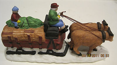 Dept 56 - Dickens Lot 2: Ox Sled